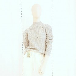 Sweater acrilico calado...