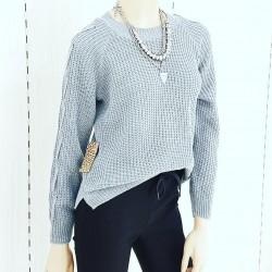Sweater acrilico c/trenzas...