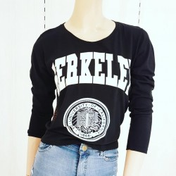 Camiseta de algodón c/estampa