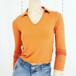 Camiseta esc V cuello...