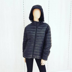 Campera inflable c/peluche...