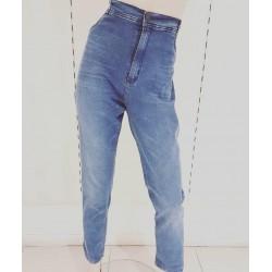 Jeans azul gastado talles...