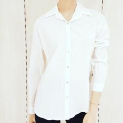 Camisa de gabardina manga...